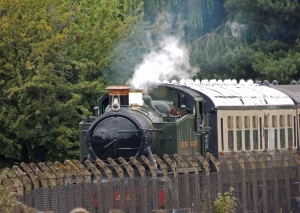 4414 in steam on the main line