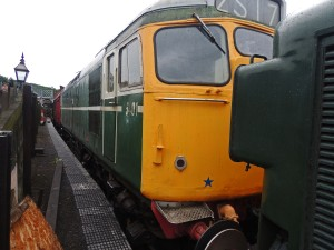 D5401 parked up at North Norfolk Railway