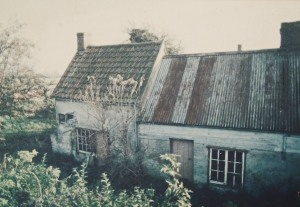 A picture taken in 1988 of the cottage before restoration