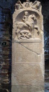 The tombstone of Longinus (Colchester Museum)