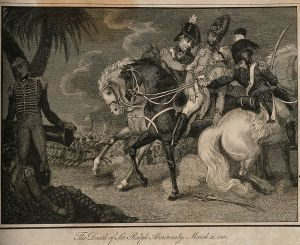 The_fatal_wounding_of_Sir_Ralph_Abercrombie_at_Alexandria, [CC BY 4.0 (http://creativecommons.org/licenses/by/4.0)], via Wikimedia Commons