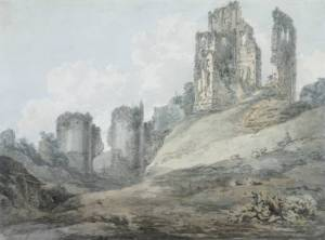 Corfe_Castle_by_JMW_Turner -J. M. W. Turner [Public domain], via Wikimedia Commons