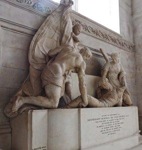 Sir John Moore memorial - St Paul's Cathedral London
