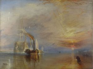 The_Fighting_Temeraire,_JMW_Turner,_National_Gallery -J. M. W. Turner [Public domain], via Wikimedia Commons
