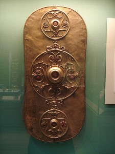 Celtic Shield. Photo by rachel H (https://www.flickr.com/photos/bagelmouse/)