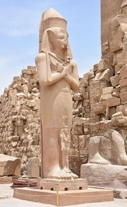 """Statue of Ramesses II in Karnak Temple in Luxor Egypt"" by MusikAnimal - Own work. Licensed under CC BY-SA 4.0 via Wikimedia Commons - https://commons.wikimedia.org/wiki/File:Statue_of_Ramesses_II_in_Karnak_Temple_in_Luxor_Egypt.JPG#/media/File:Statue_of_Ramesses_II_in_Karnak_Temple_in_Luxor_Egypt.JPG"