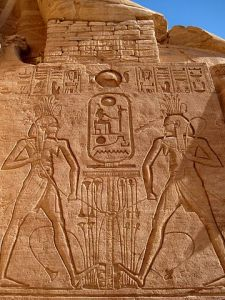 Abu Simbel Relief by Olaf Tausch - Own work. Licensed under CC BY 3.0 via Wikimedia Commons - https://commons.wikimedia.org/wiki/File:Gro%C3%9Fer_Tempel_(Abu_Simbel)_21.jpg#/media/File:Gro%C3%9Fer_Tempel_(Abu_Simbel)_21.jpg