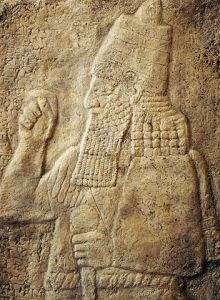 "Sennacherib ""Sanherib-tr-4271"" by Timo Roller - Own work. Licensed under CC BY 3.0 via Wikimedia Commons - https://commons.wikimedia.org/wiki/File:Sanherib-tr-4271.jpg#/media/File:Sanherib-tr-4271.jpg"