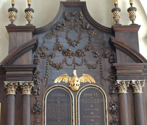 Reredos by Grinling Gibbons