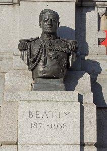 Bust of Admiral David Beatty - Trafalgar Square