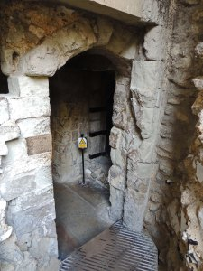 Entrance to lower chamber of Wakefield Tower