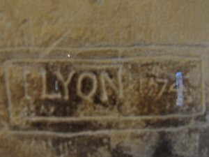 John Lyon ws  imprisoned  in the Salt Tower on charges of importing a Catholic book into the country