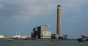 Kingsnorth Power Station - disused and in the process of being demolished