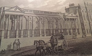 One of the wings added to the original building  between 1765 and 1788