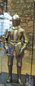 Originally displayed from 1690 as armour of Edward VI, son of Henry VIII. Now believed to be Prince Henry, son of James I