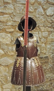 Armour of young Charles I