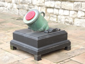 British Mortar 1808 -probably used as a saluting gun