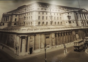 Bank of England following Baker's redevelopment (taken 1950)
