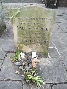 Grave of William Blake