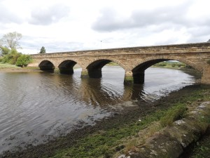 Bridge across River Aln