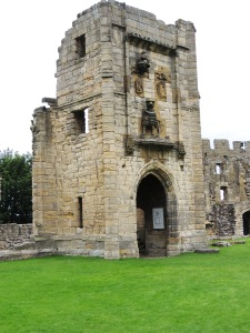 Lion Tower from main courtyard