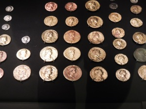 Coins found on site