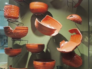 Samian ware from Gaul (France)