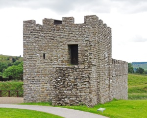 Reconstruction of stome tower and wall