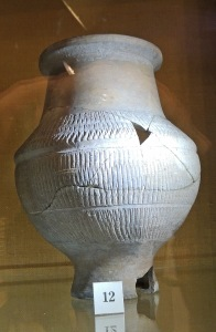 Decorated 4th century beaker