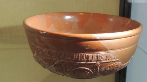 Decorated Samian Bowl (from South Gaul)