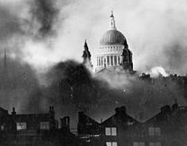 St Pauls in the Blitz By Mason, Herbert, Daily Mail photographer [Public domain], via Wikimedia Commons