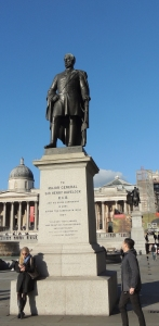 Statue of Sir Henry Haverlock in Trafalger Square