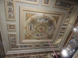 Ceiling - Kings Staircase