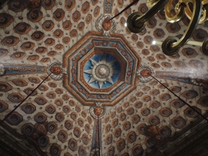 Ceiling of the Cupola room