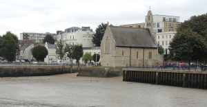 St Andrews Chapel and Royal Clarendon Hotel