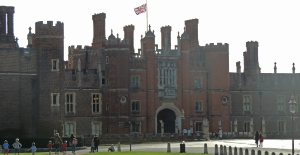 The entrance to Hampton Court