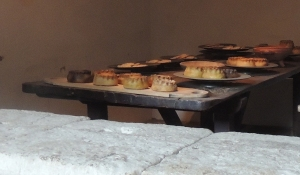 Tudor pies - pastry cooking vessels