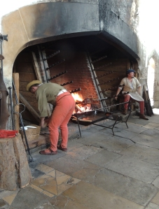 Preparing the Tudor feast in the Kitchens