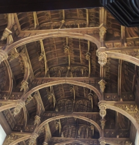 Wooden beam roof - Tudor Great hall