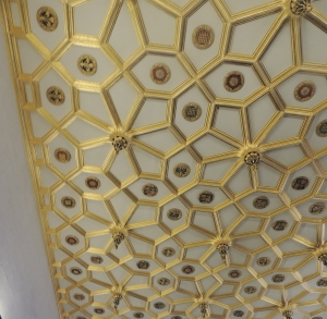 Ceiling of the waiting chamber