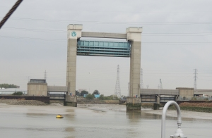 The Dartford Creek Tidal Barrier