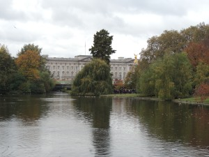 Buckingham Palace (from St James Park)