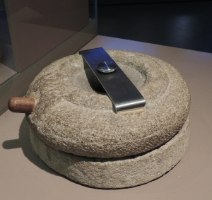 Quern-stone for grinding corn into flour