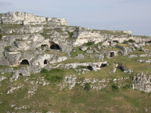 The oldest caves in the ravine