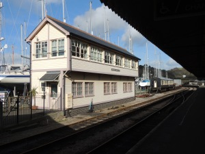 Signal box at Kingswear