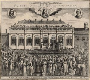 The execution of Charles [Public domain], via Wikimedia Commons