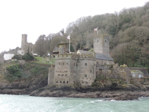 Dartmouth Castle - originally built to protect the entrance to the harbour