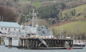 HMS Hindustan permanently based at Dartmouth as part of the Naval Academy