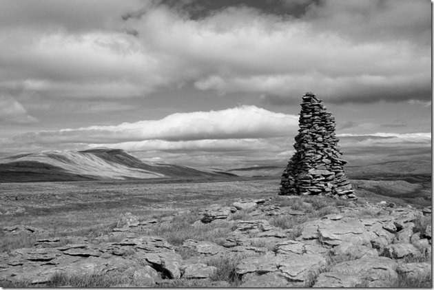 B. Cairn on Twistleton Scar