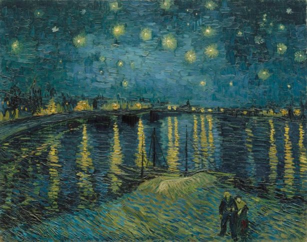 Vincent van Gogh - Starry Night 1888